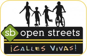Santa Barbara Open Streets Logo Bordered