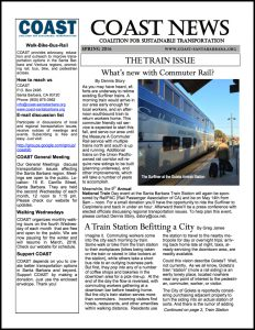 COAST Spring 2016 Newsletter