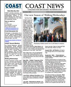 COAST Summer 2016 Newsletter